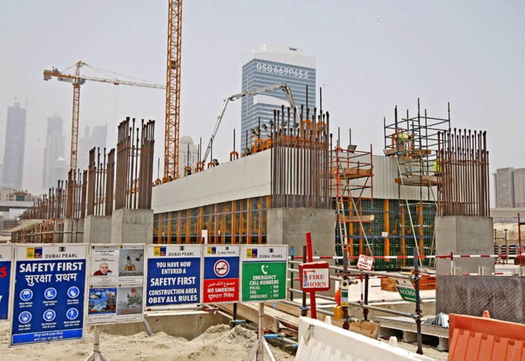 مواد البناء بالإمارات ترتفع قبيل تطبيق