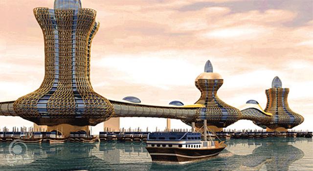 مدينة علاء الدين الأسطورية