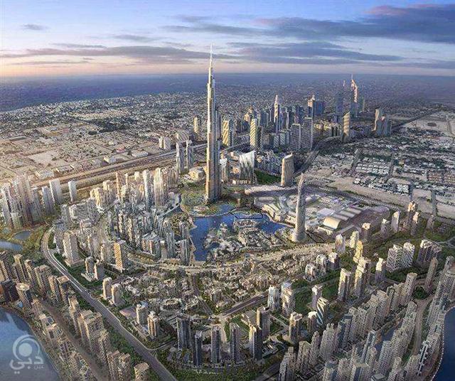 حي محمد بن راشد Mohammad Bin Rashid City